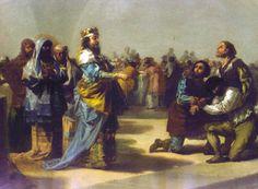 La parábola de los convidados a la boda de Goya