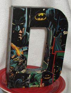 Custom Made to Order Comic Book Letters Wall Hangers by melrowe, $12.00