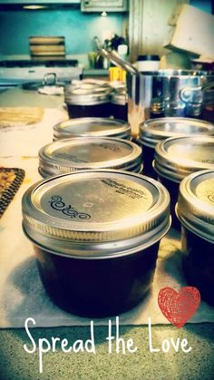 Canning Jam: My first Try!
