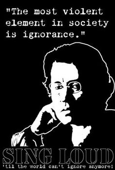 Emma Goldman...anarchist...advocate of the poor...for women's rights socialist...considered the most dangerous woman in America