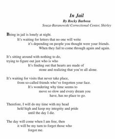 Missing you poems for boyfriend in jail