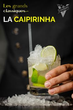Caipirinha Cocktail, Cocktail And Mocktail, Cocktails, Liqueurs, Cocktail Making, Healthy Breakfast Recipes, Kids Meals, Vodka, Fruit