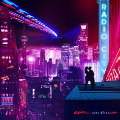Radio City by Manfrii