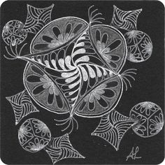 Muster Mixer #19 | Freude mit Zentangle