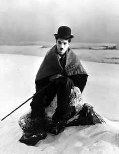 "Charlie Chaplin, I believe this is from his film ""the gold rush"""