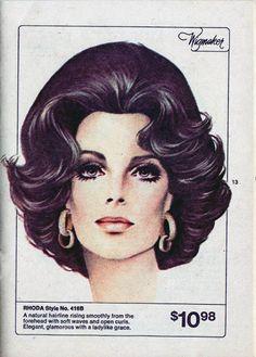 Vintage wig