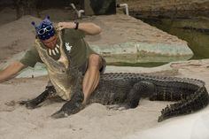 "Come see Paul from the hit tv show on Animal Planet ""Gator Boys"" at Everglades Holiday Park"