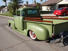 1949 Chevy Truck Short bed 1/2 ton 3100 5 window, bagged show truck photo 4