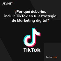 TikTok promueve la comunidad y el contenido generado por el usuario, por lo que resulta una gran plataforma de marketing para las marcas.👌🏼  Te contamos algunos de los motivos por lo que las marcas deben estar en tik kok:  👉🏼 Desafíos Hashtags Challenges: los desafios están de moda y promueven a la comunidad.  👉🏼Marketing de influencers.  👉🏼Contenido generado por el usuario: en TikTok las marcas tienen la posibilidad de formar parte de la comunidad e ir más allá de la… Instagram, Digital Marketing Strategy, Marketing Strategies, Platform, Branding, Community, Parts Of The Mass