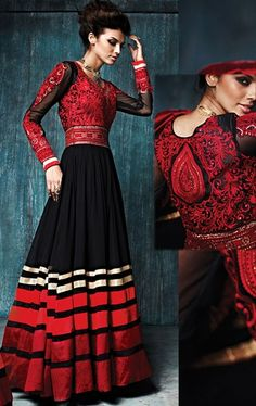 Wonderful Black Designer Salwar Kameez
