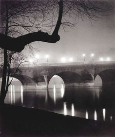 George Brassaï (pseudonym of Gyula Halász) (9 September 1899 – 8 July 1984) was a Hungarian photographer, sculptor, and filmmaker who rose to international fame in France in the 20th century. He was one of the numerous Hungarian artists who flourished in Paris beginning between the World Wars.