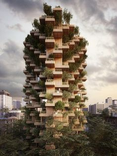 Gallery of Penda Designs Modular Timber Tower Inspired by Habitat 67 for Toronto - 1