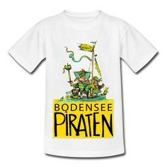 Das Bodensee Piraten t-shirt. Selten und originell.