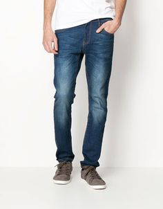 Bershka Turkey - Basic tapered fit jeans