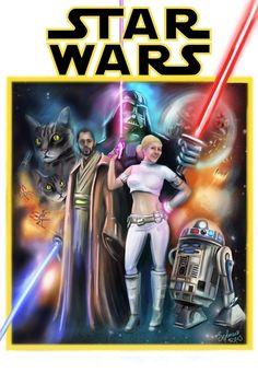 Star Wars fan art on Behance by Begoña Fumero