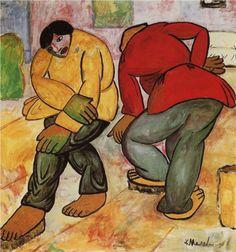 Floor Polishers  - Kazimir Malevich