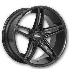 "<p> 20"" Staggered XIX Wheels X33 Matte Black Rims</p>"