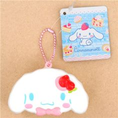 cute soft sponge squishies with Sanrio character, dessert