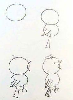 How to draw simple figures? The post How to draw simple figures? … appeared first on Best Pins for Yours - Drawing Ideas Drawing Lessons, Drawing Skills, Drawing Techniques, Figure Drawing, Painting & Drawing, Cartoon Drawings, Easy Drawings, Animal Drawings, Pencil Drawings