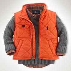 Richmond Pony Bomber Vest - Infant Boys Outerwear & Jackets - RalphLauren.com