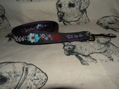 1 inch wide dog leash to match collars by HappyPawsDogCollars, $20.00  I love this collar and leash set...www.HappyPawsDogCollars.com