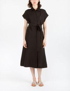 Daria Dress Silk Linen