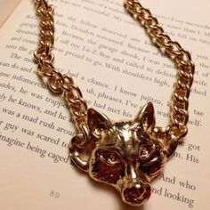 Fox Necklace Brand new with no tags. Fashionable & trendy. Never worn. Jewelry Necklaces