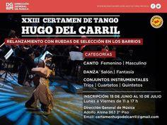 XXIII Certamen de Tango Hugo del Carril