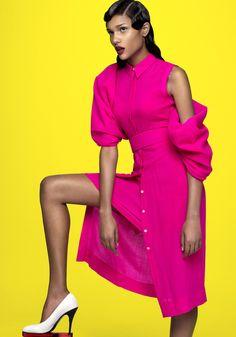 Colour Culture --- Carol Caputo by Gustavo Ipolito for U+Mag June 2014