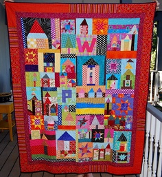 Collaborative Quilt Front by Caribousmom, via Flickr