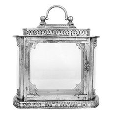 Lifestyle Julian Lantern Antique Silver