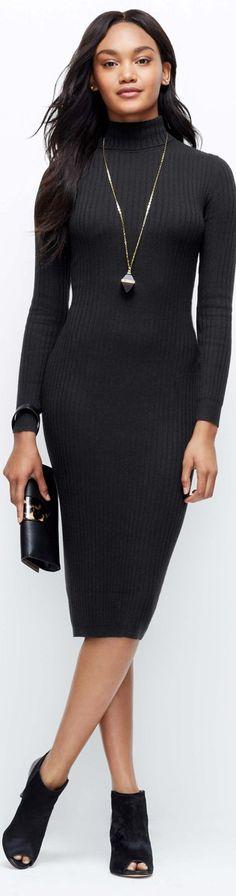 ann-taylor-ribbed-turtleneck-sweater-dress.jpg (316×1200)