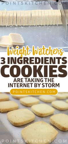 These brilliant cookies are taking the internet by storm: 3 ingredients and ready in no time dessert cookies weightwatchers weight_watchers lowcarb slimmingworld ketogenic Weight Watcher Desserts, Weight Watchers Snacks, Weight Watcher Cookies, Weight Watchers Sugar Cookie Recipe, Ww Sugar Cookie Recipe, Weight Watchers Cupcakes, Diabetic Weight Watchers, Weight Watchers Brownies, Easy Cookie Recipes