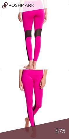 722059c4c12 Electric Yoga Moto Mesh Leggings Details - Banded waist - Knit construction  - Sheer mesh trim - Imported Fiber Content nylon
