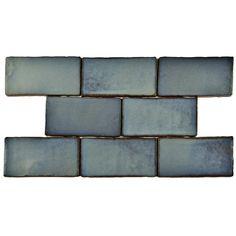 """EliteTile Antiqua 3"""" x 6"""" Ceramic Tile in Special Griggio"""