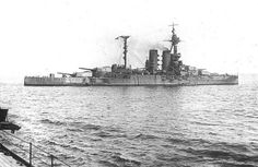HMS Warspite in 1918 - she had more battle honours across two World Wars than any other capital ship of any Navy.