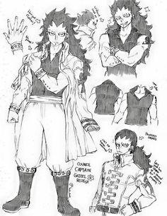 Gajeel Redfox - Member of Magic Council, X792 - Fairy Tail