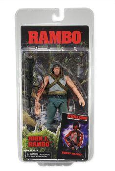 "John J Rambo (Rambo - First Blood) 7"" NECA Action Figure"