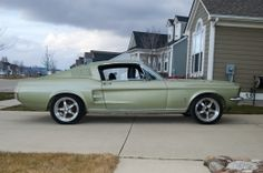 1967 Ford Mustang Fastback Muscle Car by Malico http://www.musclecarbuilds.net/1967-ford-mustang-fastback-build-by-malico