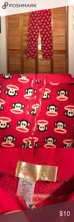 Monkey pajama pants Monkey pajama pants in good condition size large Paul Frank Intimates & Sleepwear Pajamas
