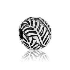 Precious Fern Clip NZ Silver bracelet charms- evolve-jewellery.co.nz