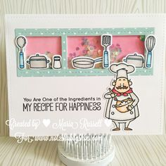 MFT Stamps #mftstamps Recipe for happiness stamp set