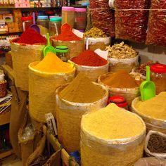Spice souk - Fes medina Morocco