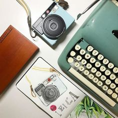 The analogue life. We love seeing your creative shots featuring Leica! Share with us at #LeicaCameraAus. (Photo @nibsnbrushes ) #Leica #LeicaSofort #FrameTheMoment # #instantphoto via Leica on Instagram - #photographer #photography #photo #instapic #instagram #photofreak #photolover #nikon #canon #leica #hasselblad #polaroid #shutterbug #camera #dslr #visualarts #inspiration #artistic #creative #creativity