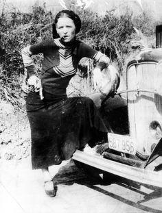 Bonnie Parker*of Bonnie and Clyde fame* c.1933