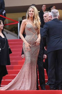 Blake Lively, again | Here's What Everyone Wore To The 2016 Cannes Film Festival