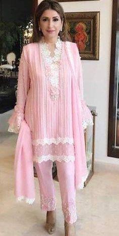 Pakistani Gowns, Pakistani Party Wear Dresses, Pakistani Dress Design, Stylish Kurtis Design, Stylish Dress Designs, Stylish Dresses, Fancy Dress Design, Eastern Dresses, Sleeves Designs For Dresses