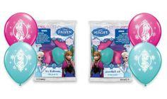 "Disney Frozen 12"" Latex Balloons (Pack of 2), 6 Count $4.30"
