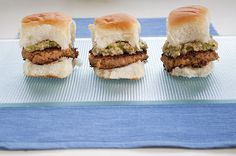 Hawaiian Salmon Burgers via @Rhonda Adkins
