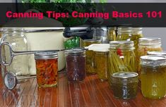 Canning Tips: Cannin